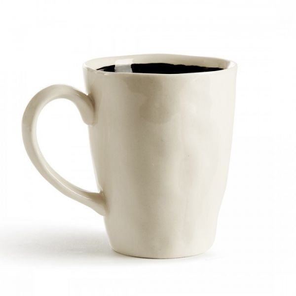 MUG IN STONEWARE BORDO FILL BY ATIPICO